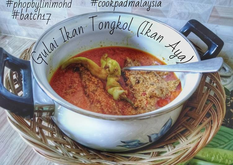 Gulai ikan tongkol (ikan aya) #phopbylinimohd#batch17 - resepipouler.com