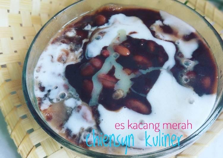 Resep Es kacang merah khas Manado Enak