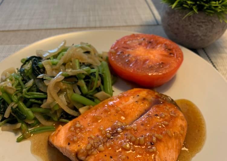 Recipe: Succulent Honey Soy Glaze Salmon