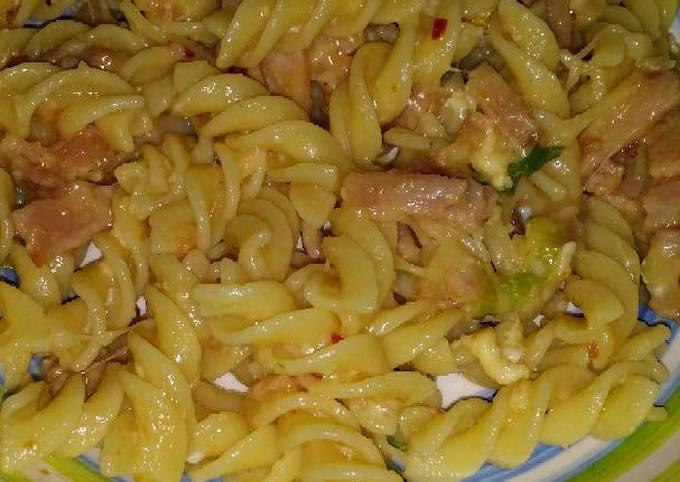 Spicy Carbonara