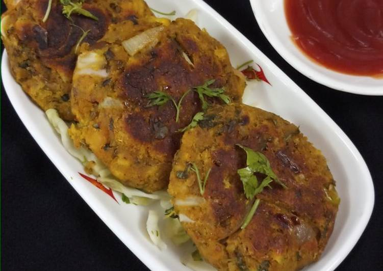 Mixed sprouts kabab - Laurie G Edwards