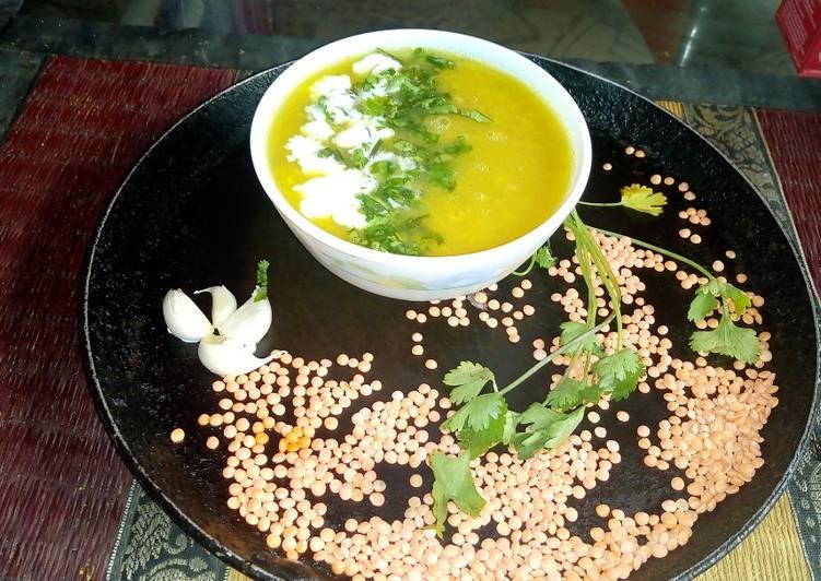 Masoor creamy soup