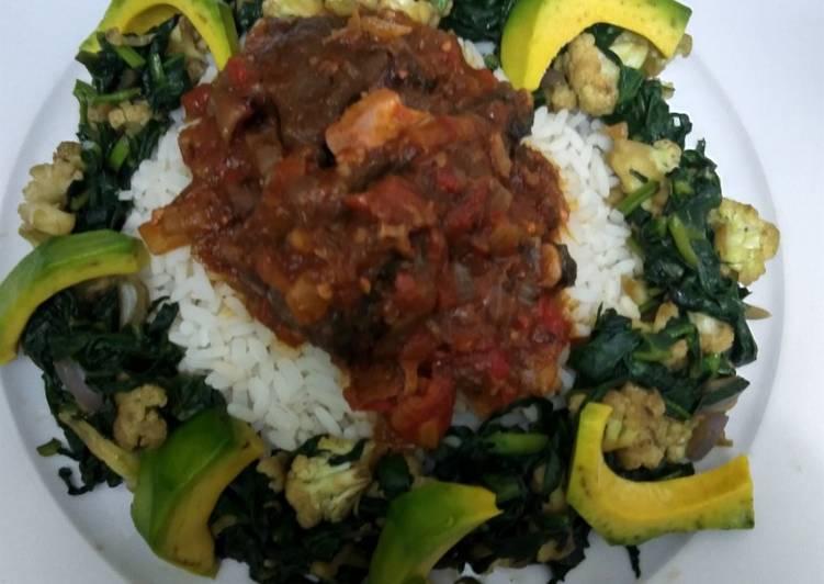 CrownRice with Fish Sauce