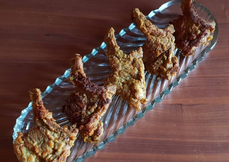 Steps to Prepare Favorite Fried Lamb Chops