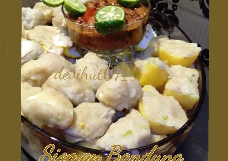 "Siomay Abang"" ala Rumahan. (Ikan Kakap) - cookandrecipe.com"
