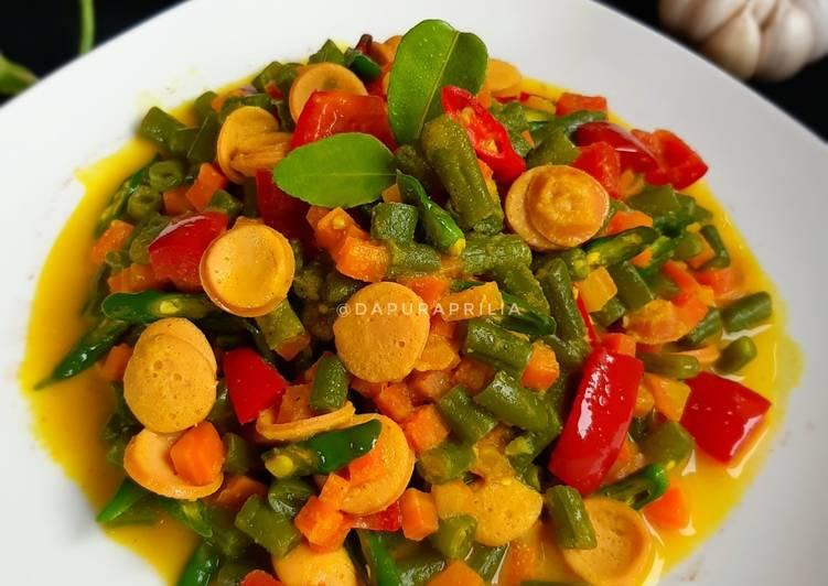 Buncis Acar Kuning - cookandrecipe.com