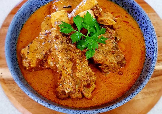 GULAI BAGAR IGA SAPI (Beef Ribs Bagar Curry)