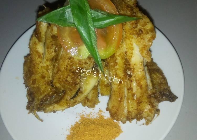 Steps to Make Quick Fried fish fillet