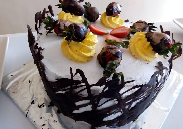 Recipe of Favorite Dark chocolate cage