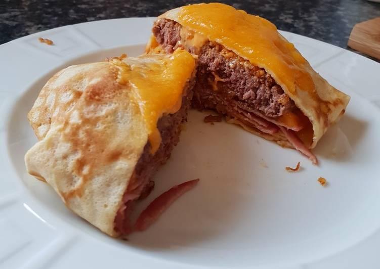 Crêpe hamburger