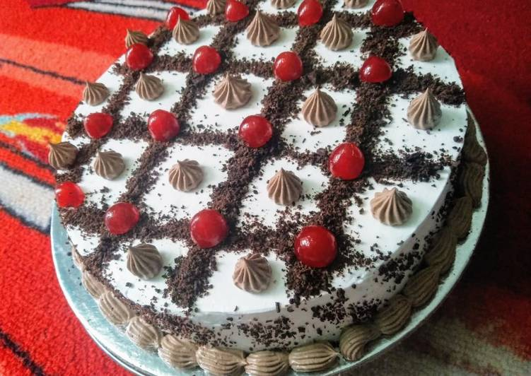 Chocolate Cake or Black forest cake