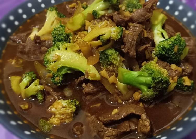 Brokoli & Beef Saus Tiram