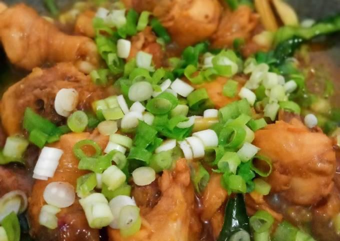 Ayam Kecap Mie Ayam