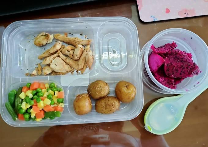 Menu diet makan siang sederhana