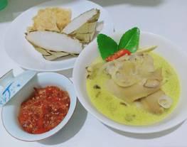 Opor ayam + sambal opor
