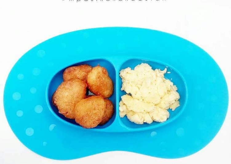 Nugget Mcd Ala Ala + Scrambled Egg - MPASI