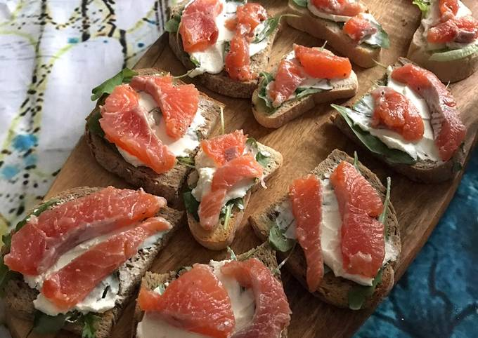 Easy salted salmon