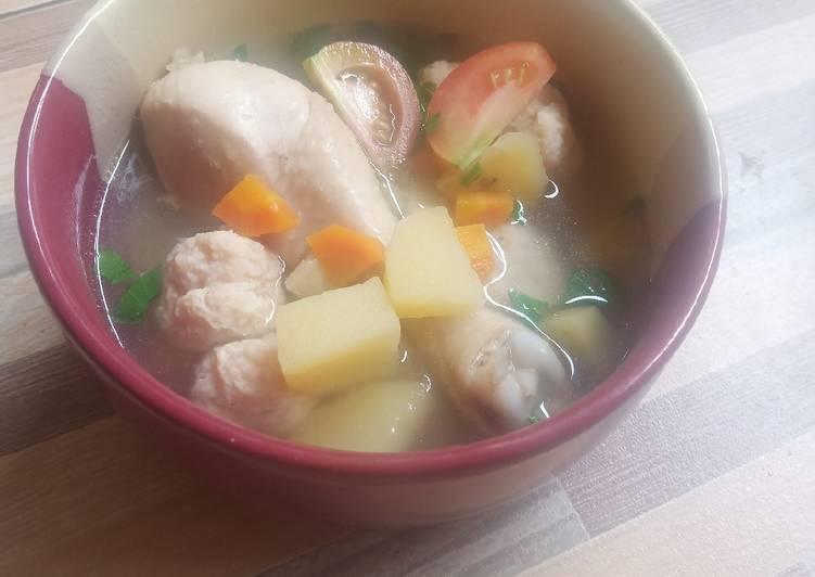 Cara Memasak Sup Ayam Jahe Enak