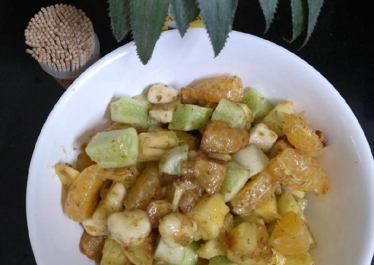 Fruit chaat (navratri special)