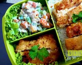 Russian Salad/Olivier (bekal sekolah/bekal kantor ?