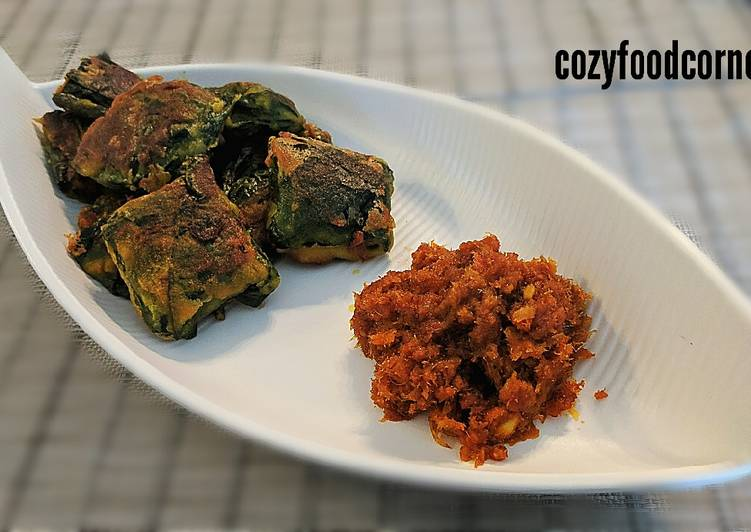 Steps to Prepare Perfect Dry fish wraps with chutney
