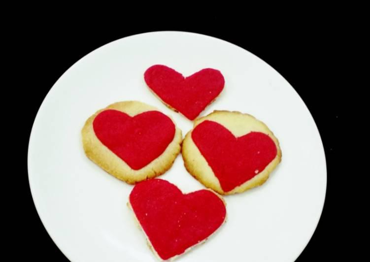 Vanilla Heart Cookies