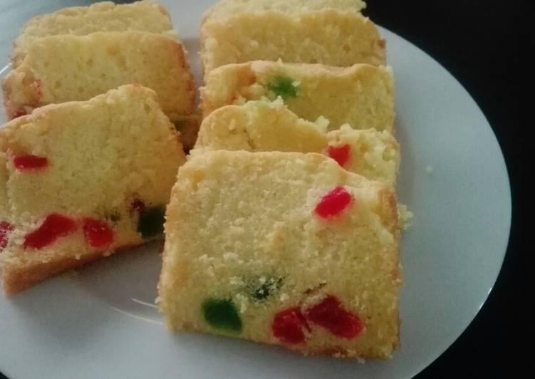 Step-by-Step Guide to Prepare Speedy Fruit cake