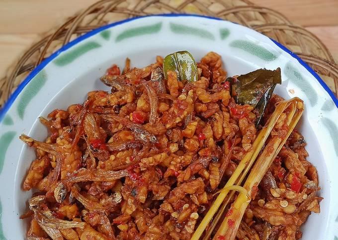 sambal goreng kering tempe teri - resepenakbgt.com