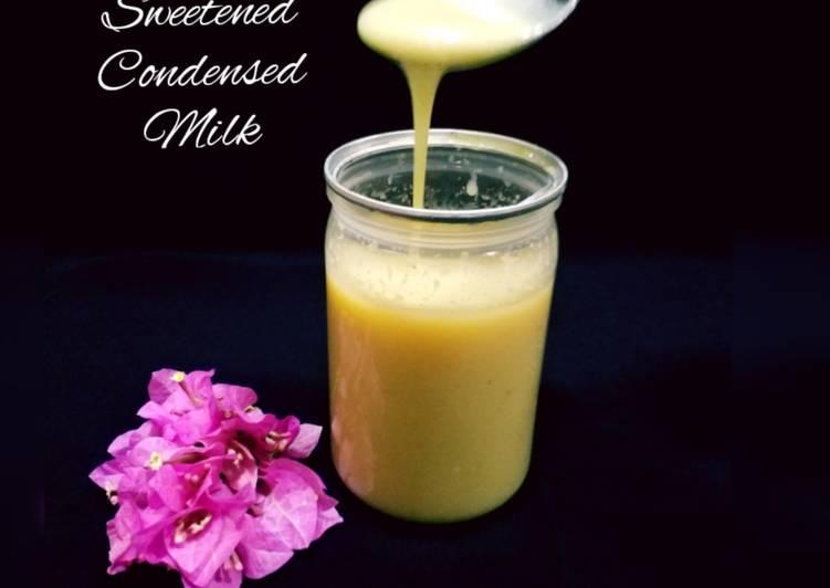 Simple Way to Prepare Super Quick Homemade Sweetened Condensed Milk