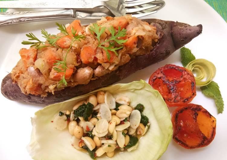 Recipe: Tasty Sweet Potato Pot