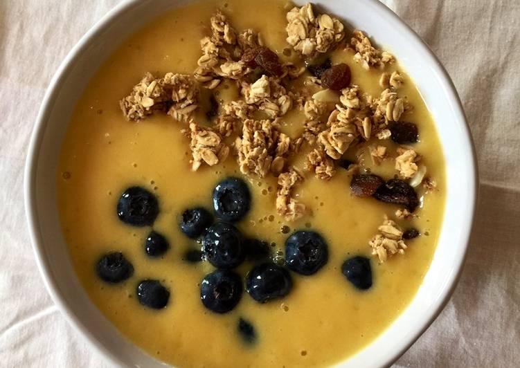 Recipe of Favorite Mango Smoothie Bowl