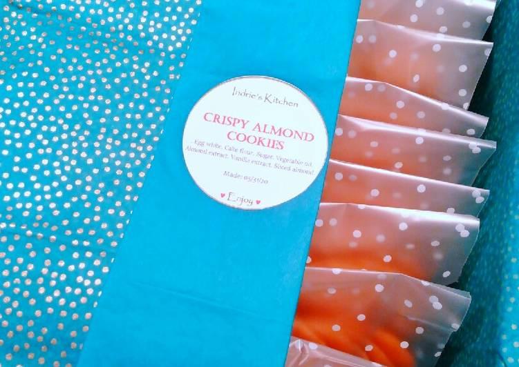77. Crispy Almond Cookies Gaya Ndi