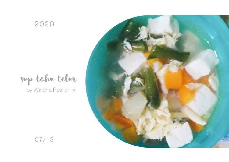 Sup Tahu Telur