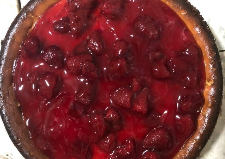 Easiest Way to Make Speedy Strawberry Cheesecake
