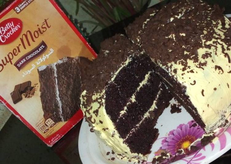 Super moist chocolate cake mix