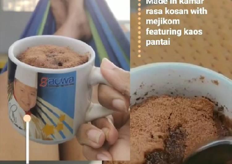 Lava Mug Cake Milo