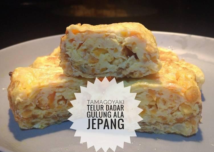 Resep Tamagoyaki Sederhana (Telur Dadar Gulung ala Jepang) Bikin Jadi Laper
