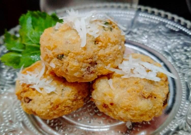 Perkedel Tahu Daging tanpa telur MPASI 9m+