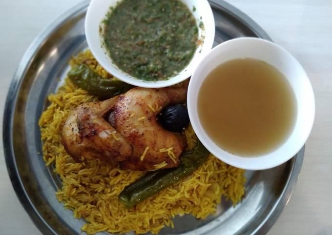 Nasi Mandy Ayam bersama Sahawig