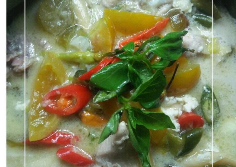 Resep Garang Asem ayam + jamur istimewa