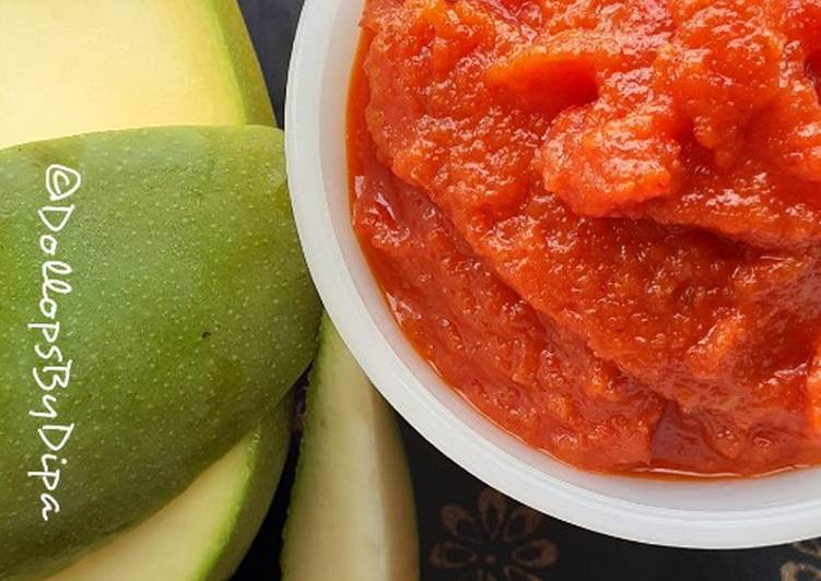 Easiest Way to Make Top-Rated Raw Mango Chutney