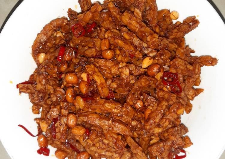 Oreg kering tempe kacang
