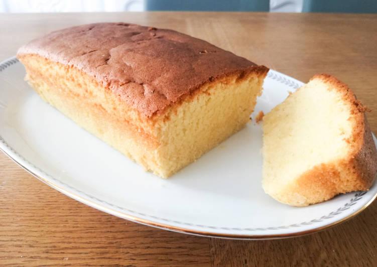 Cake avec crème fraîche et sans levure