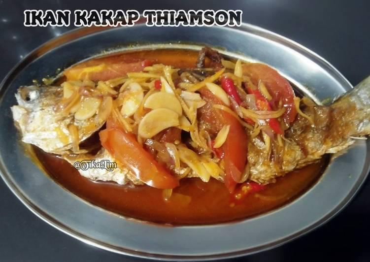 Ikan kakap thiamson