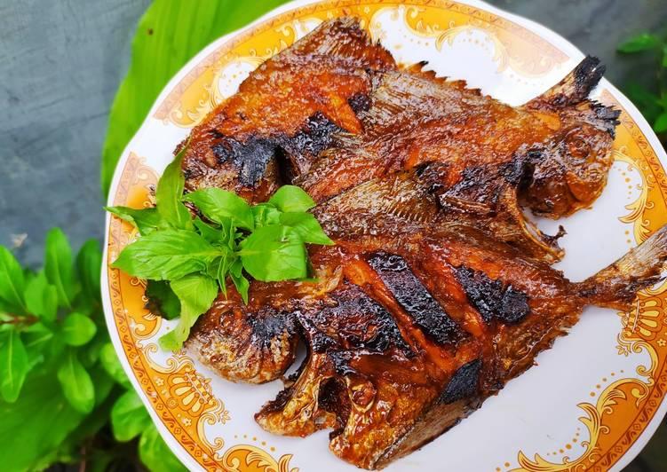 Ikan Dorang Bakar