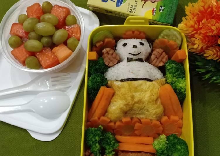 Bagaimana Membuat Bento Beruang Selimut For Kids yang Enak