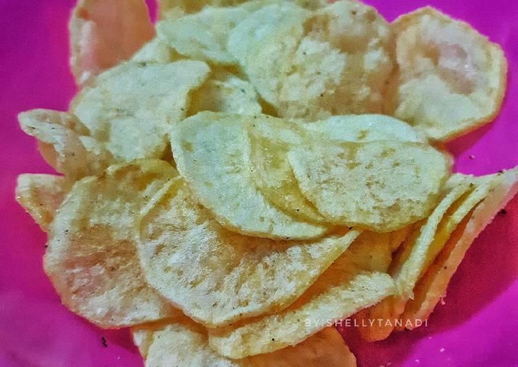 Keripik kentang renyah