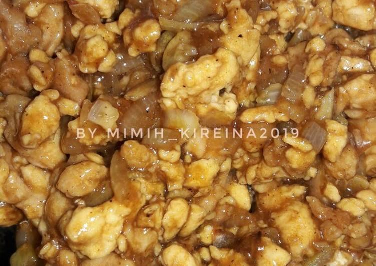 Resep Ayam cincang untuk isian roti dan bakpao Bikin Jadi Laper