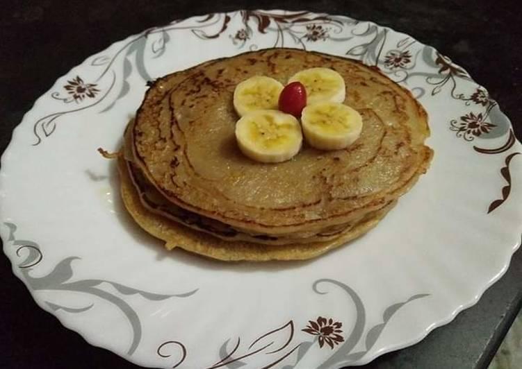 Atta Banana pancake