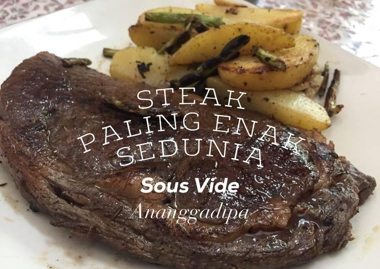 Steak paling enak sedunia, dengan Sous Vide! 🐮